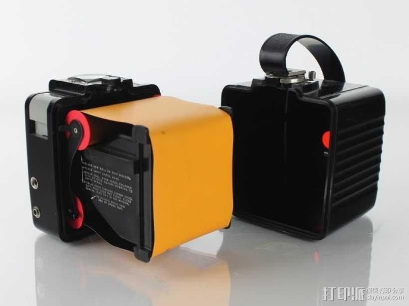 中轴照相机 3D模型  图6