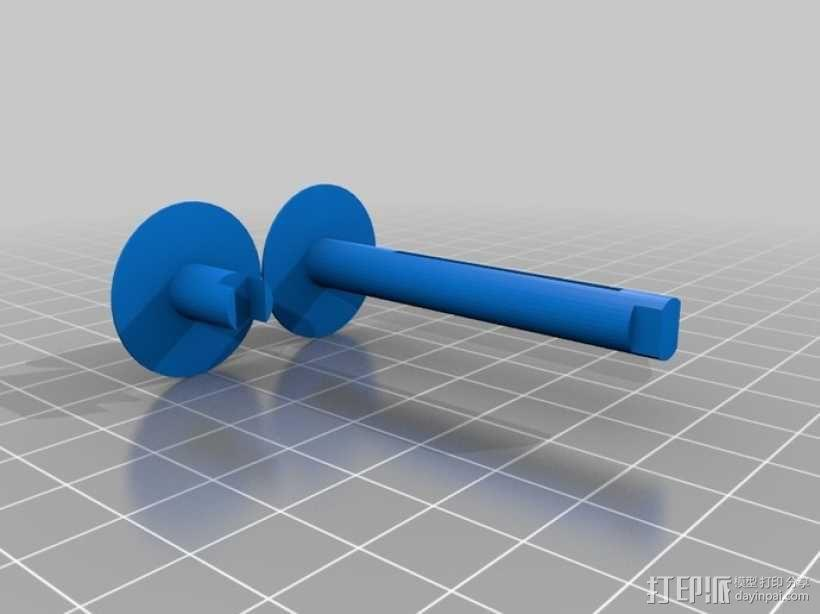 中轴照相机 3D模型  图8