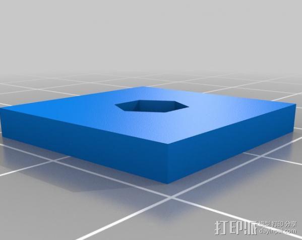 PS3 照相机底座 3D模型  图3