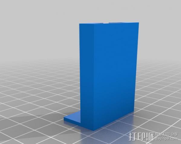 PS3 照相机底座 3D模型  图5