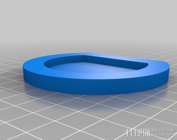 PS3 照相机底座 3D模型  图6