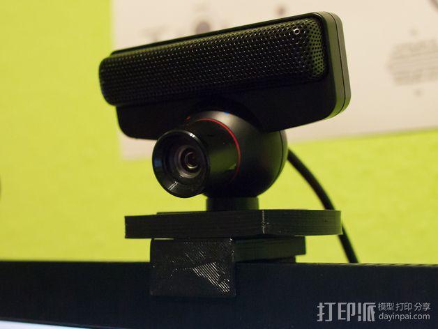 PS3 照相机底座 3D模型  图7