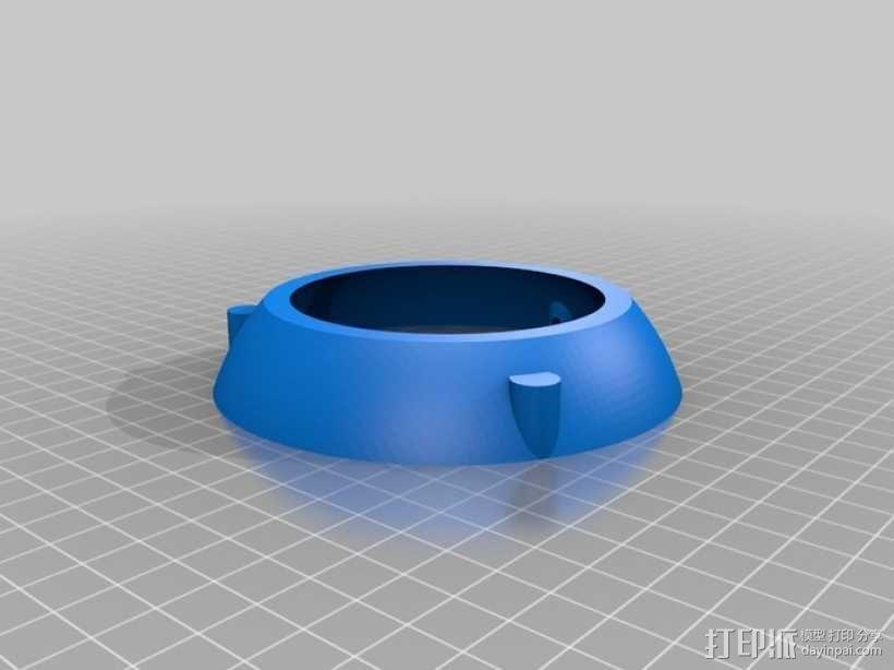 Iphone 4 充电手机座 3D模型  图1