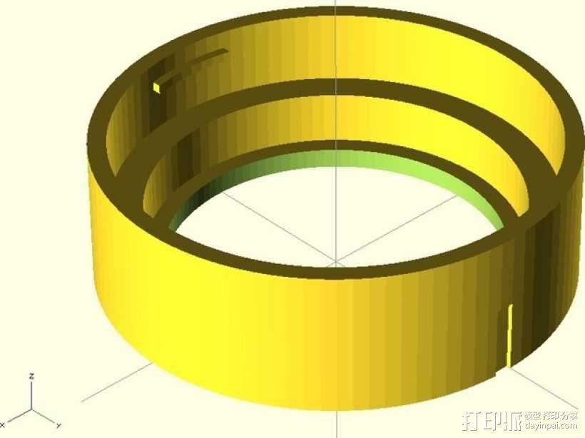 GoPro 镜头 3D模型  图1