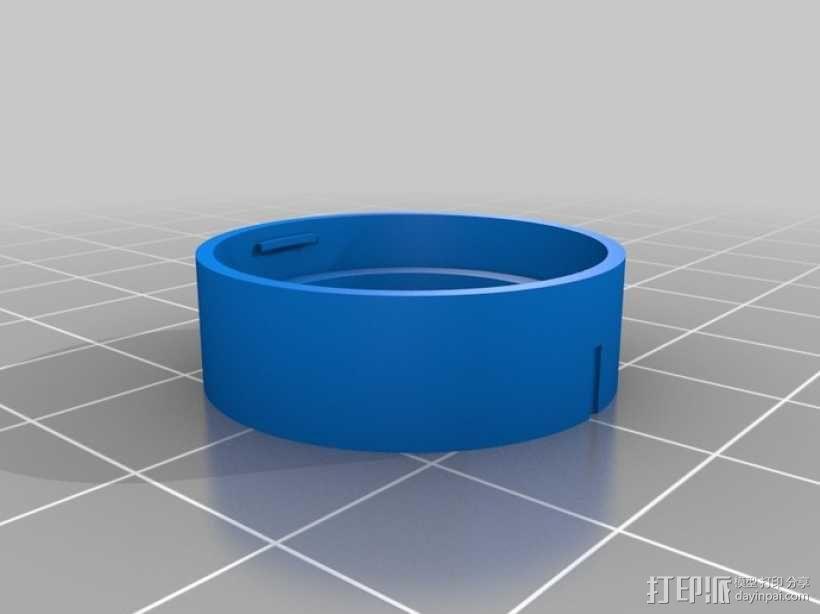 GoPro 镜头 3D模型  图4