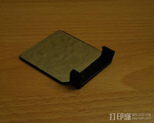 Sony Nex 闪光灯挡板 3D模型  图2