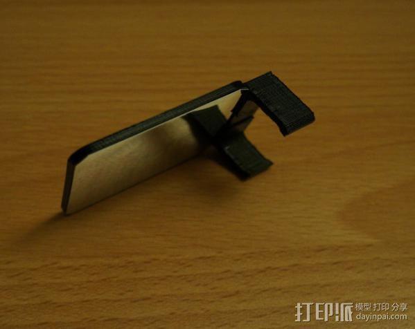 Sony Nex 闪光灯挡板 3D模型  图3