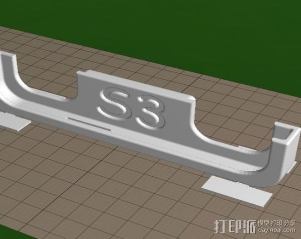 S3手机座 3D模型  图5