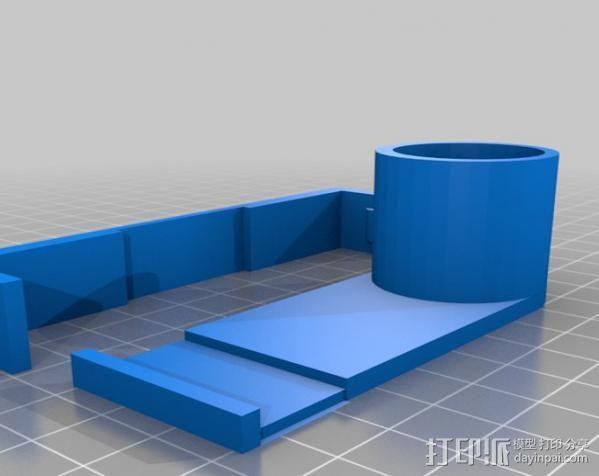 Galaxy Note 2放大器 3D模型  图1
