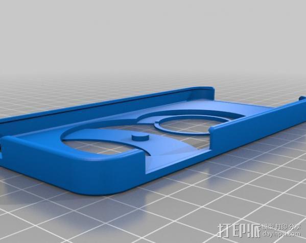 iPhone 5手机壳 3D模型  图4