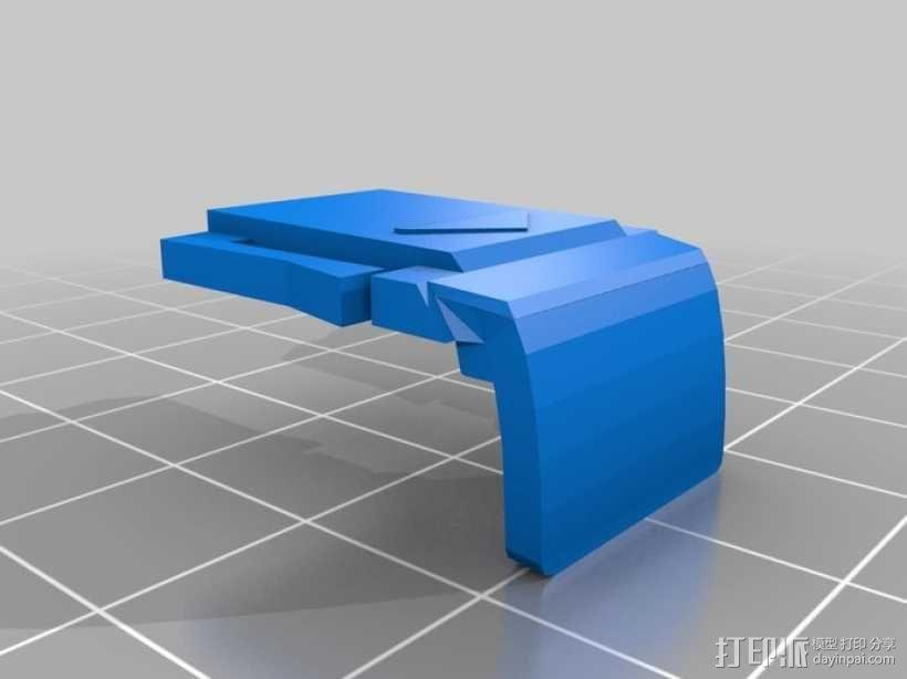 e-pm1笔适配器 3D模型  图1