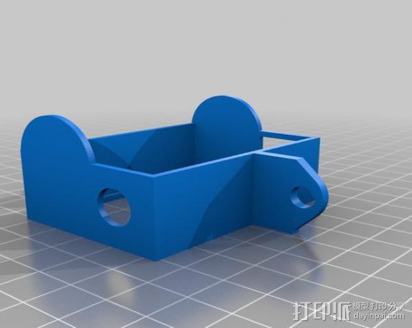 GoPro Hero3 保护壳 3D模型  图2
