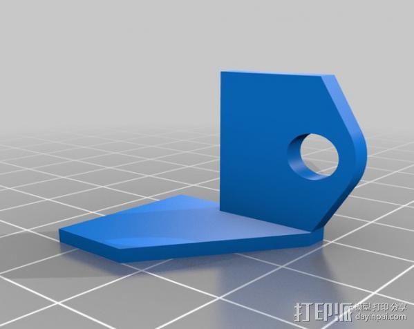 GoPro Hero3 保护壳 3D模型  图3