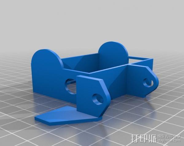 GoPro Hero3 保护壳 3D模型  图4