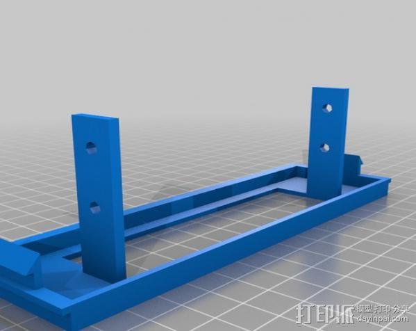 Floppy Drive 3.5适配器 3D模型  图2
