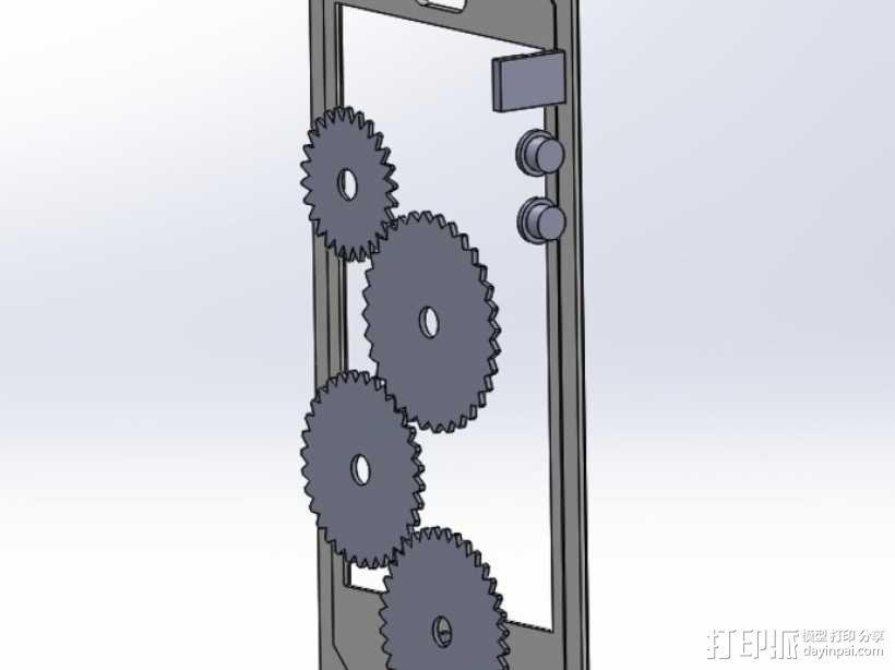 iPhone 5保护壳 3D模型  图2
