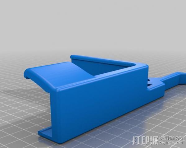 集线器 3D模型  图4