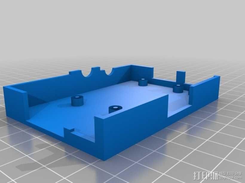 Raspberry Pi 相机保护壳 3D模型  图1
