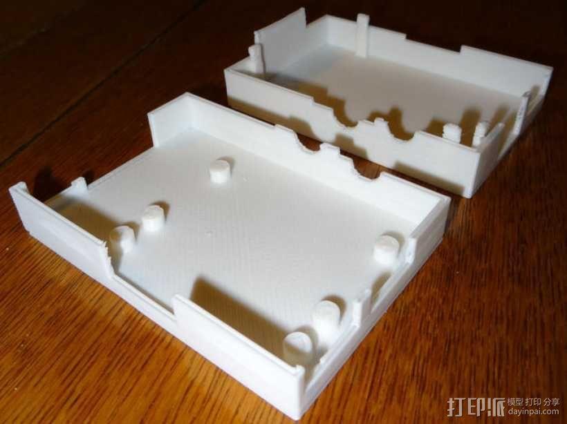 Raspberry Pi 相机保护壳 3D模型  图2
