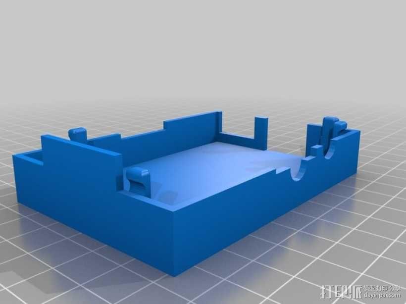 Raspberry Pi 相机保护壳 3D模型  图4