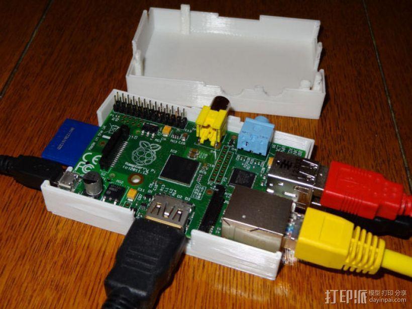 Raspberry Pi 相机保护壳 3D模型  图5