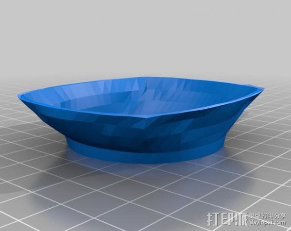 Zuiko 14-42 MSC II镜头盖 3D模型  图1