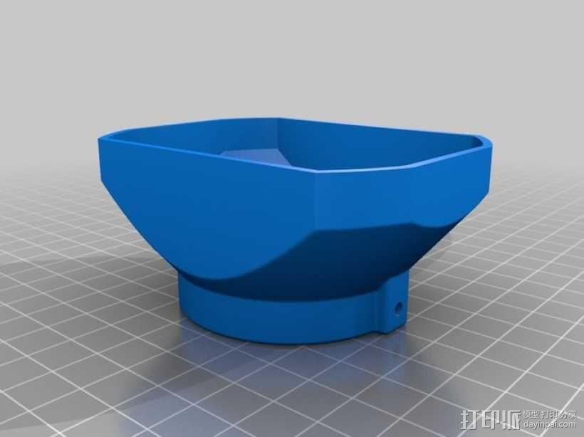 遮光罩 3D模型  图1