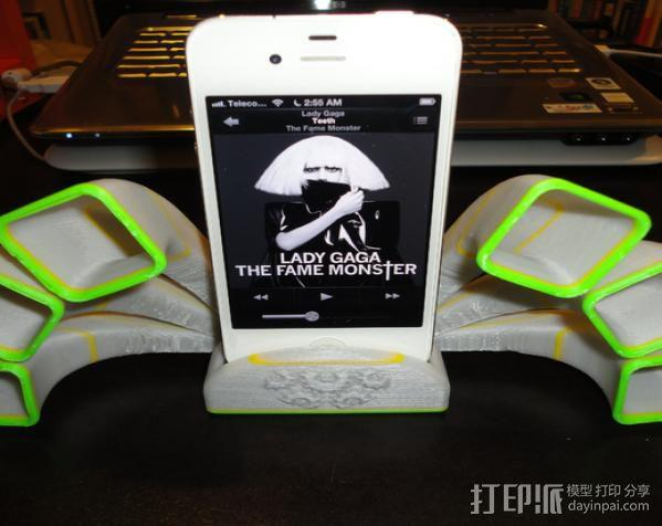 iPhone 手机座 3D模型  图2
