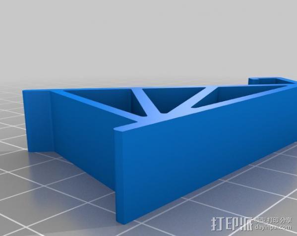 通用手机座 3D模型  图1