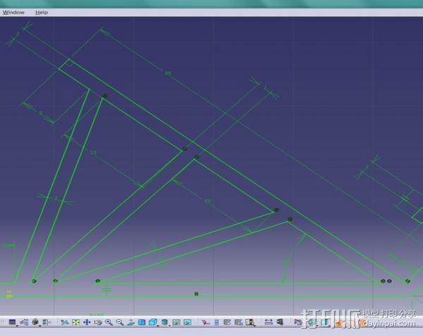 通用手机座 3D模型  图3