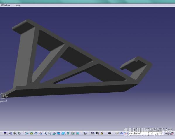 通用手机座 3D模型  图4