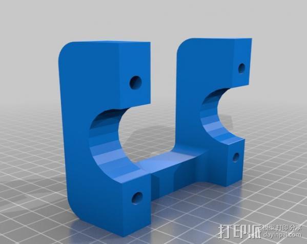 Gopro适配器 3D模型  图7