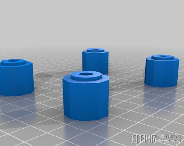 Gopro适配器 3D模型  图8