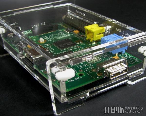 Raspberry Pi适配器 3D模型  图12