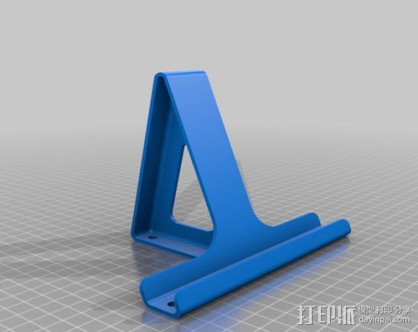 平板支架 3D模型  图2