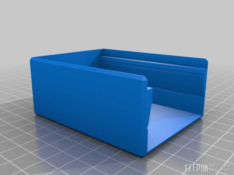 相机滑块 3D模型  图1