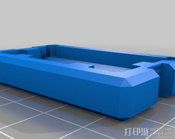 相机滑块 3D模型  图3