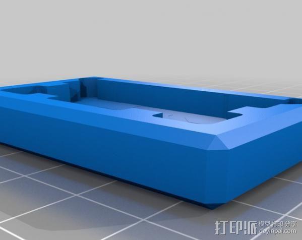 相机滑块 3D模型  图4