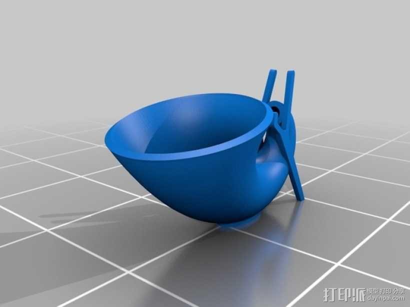 Xperia Pro扬声器 3D模型  图1