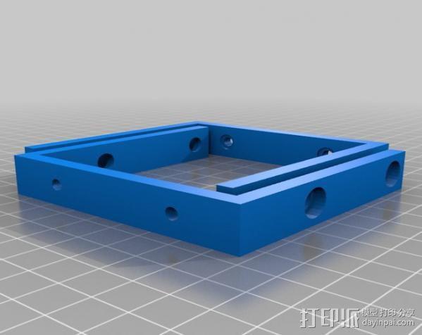 2.5英寸支架 3D模型  图2