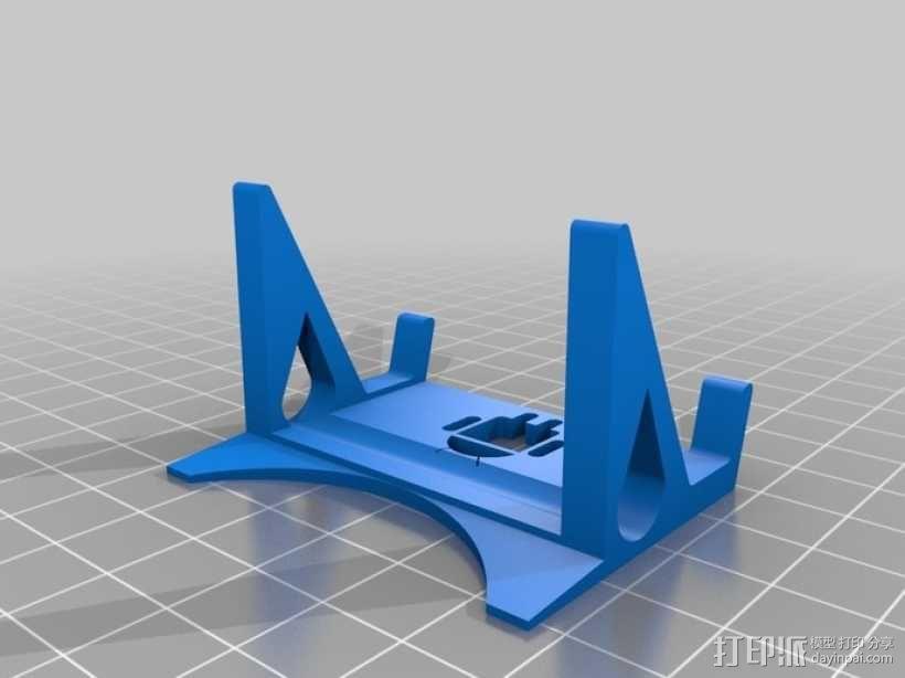 安卓手机座 3D模型  图1