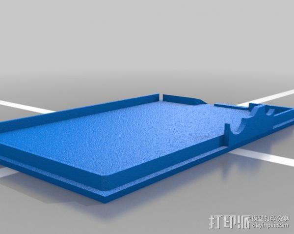 Raspberry Pi 适配器 3D模型  图3