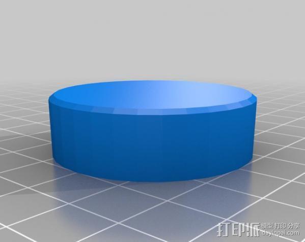 音量旋钮 3D模型  图1