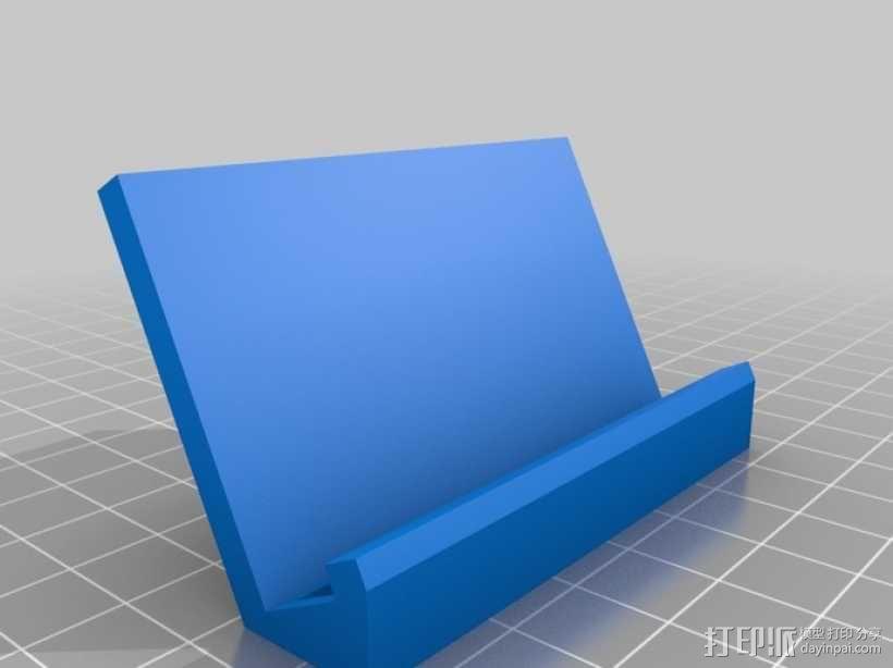 Samsung Galaxy SII 手机座 3D模型  图2
