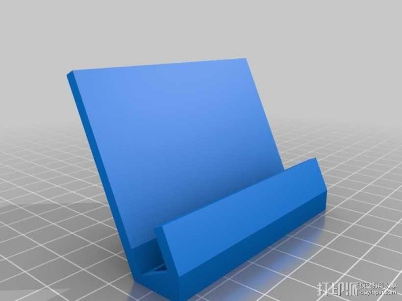 Samsung Galaxy SII 手机座 3D模型  图1