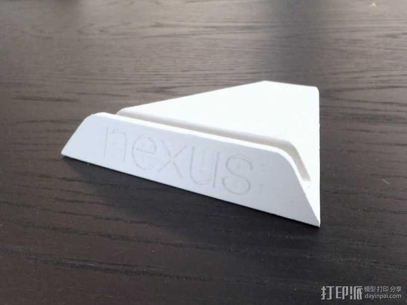 Nexus 7 平板支架 3D模型  图1