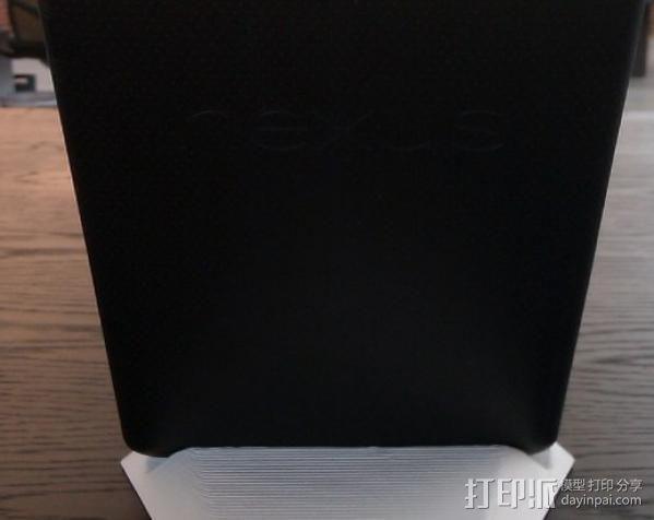 Nexus 7 平板支架 3D模型  图4