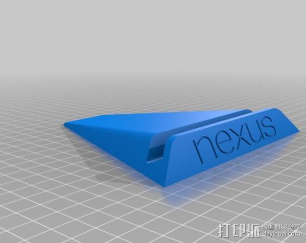 Nexus 7 平板支架 3D模型  图8