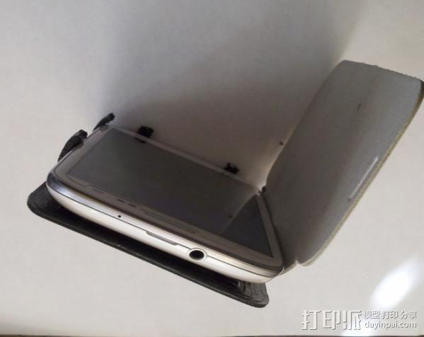 Samsung galaxy s3 绑带手机壳 3D模型  图2