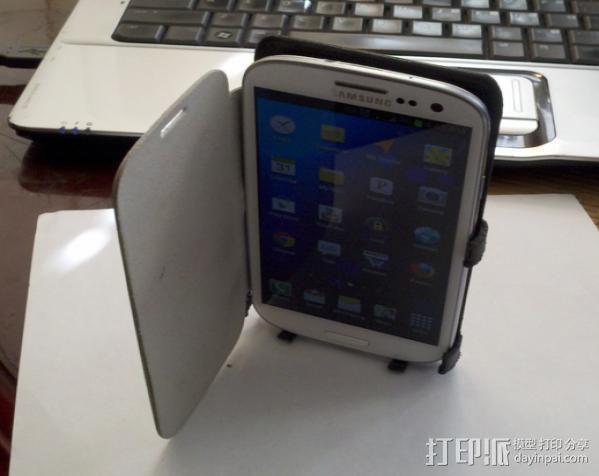 Samsung galaxy s3 绑带手机壳 3D模型  图5